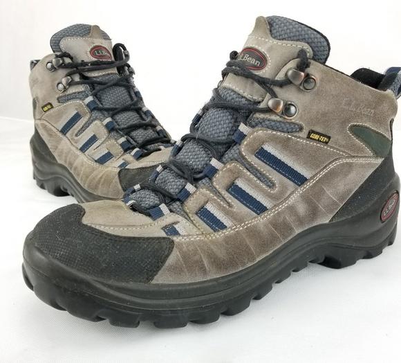e2f9c3e37dd LL Bean Hiking Boots Mid high Mens Size 9M Goretex